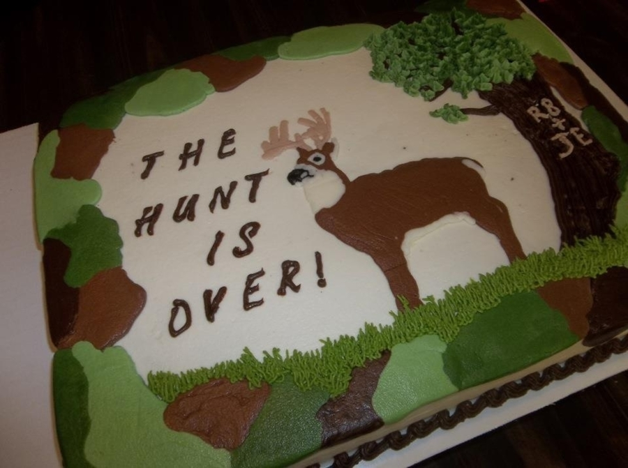 Camo Grooms Cake on Cake Central