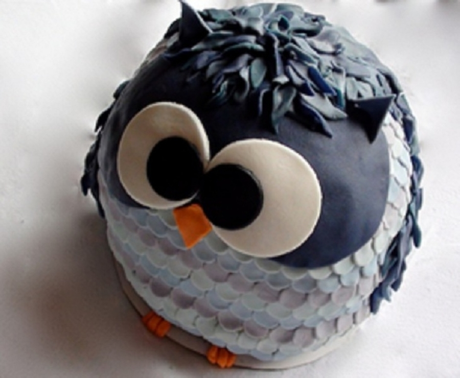 Cute Owl on Cake Central