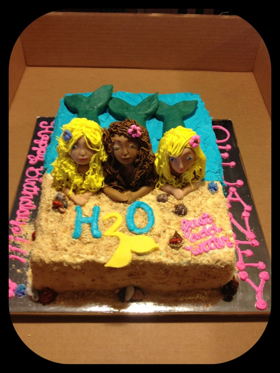 H2O Mermaid Cake on Cake Central
