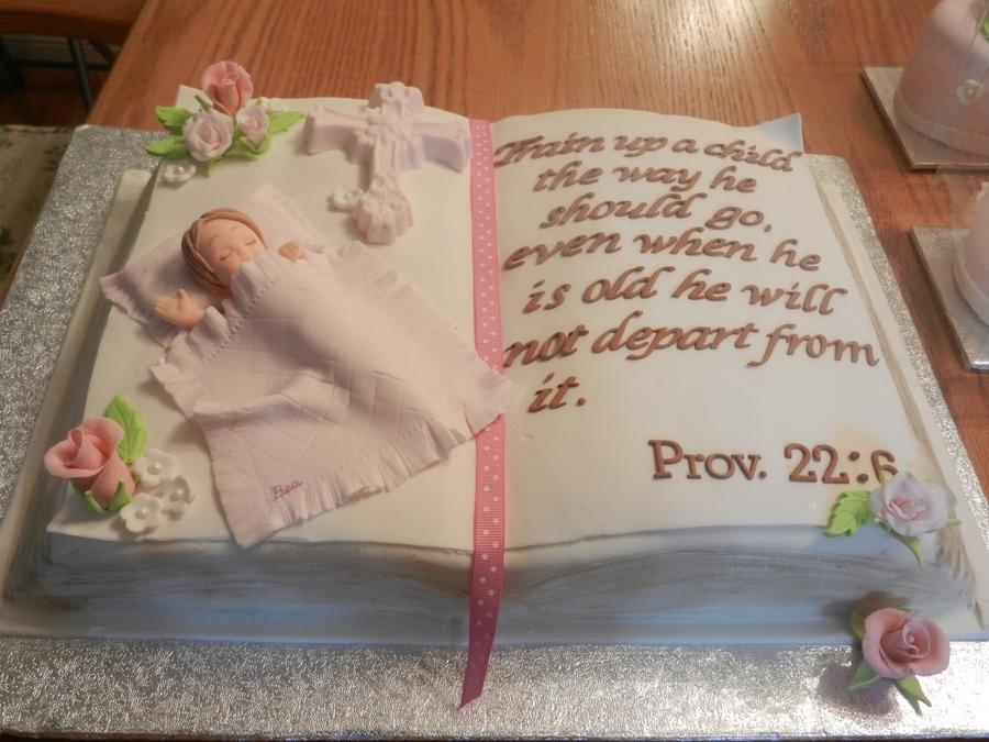 Baby Dedication Cakecentral Com