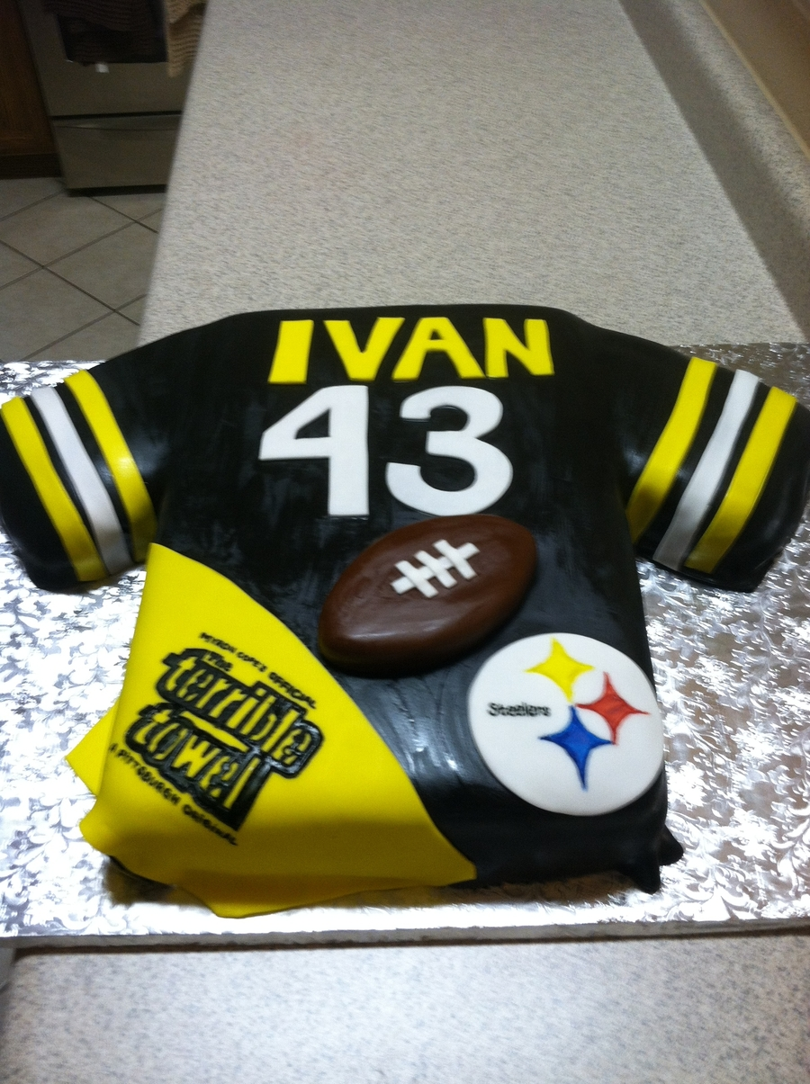 Steelers Football on Cake Central
