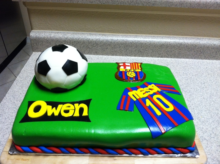 Birthday Soccer Cake on Cake Central
