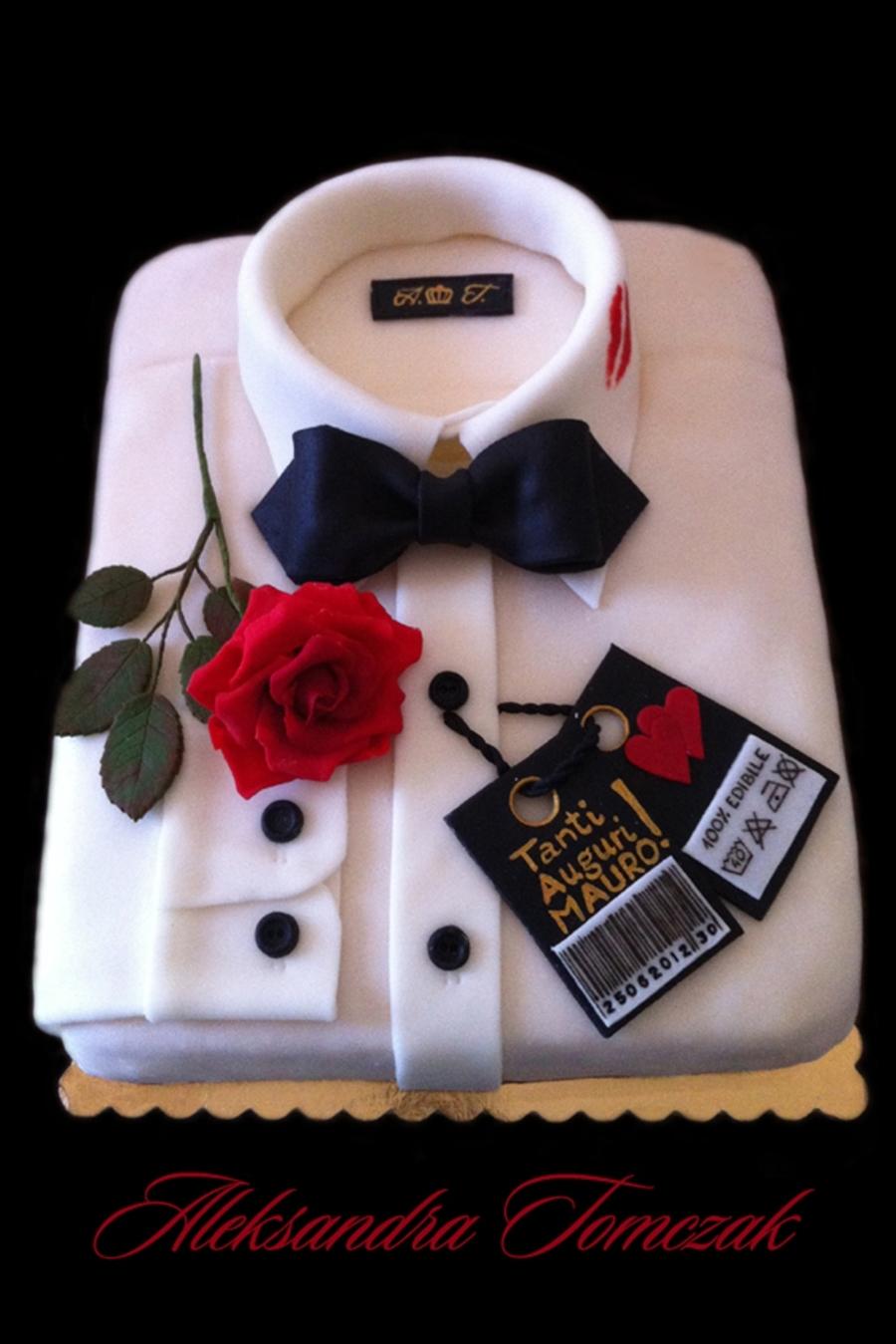 My Name Is Bond James Bond S Shirt Cake D