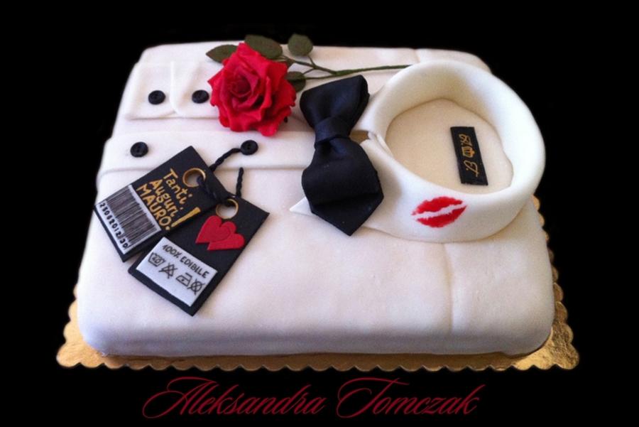 My Name Is Bond James Bonds Shirt Cake D Cakecentral