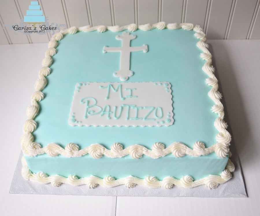 12X12 Communion Cake on Cake Central