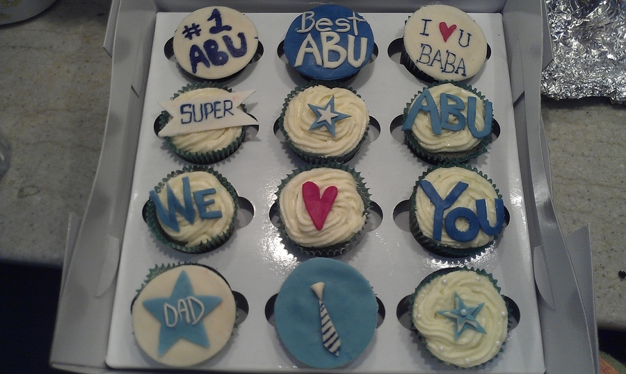 Fathers Day Cupcakes Cakecentral Com