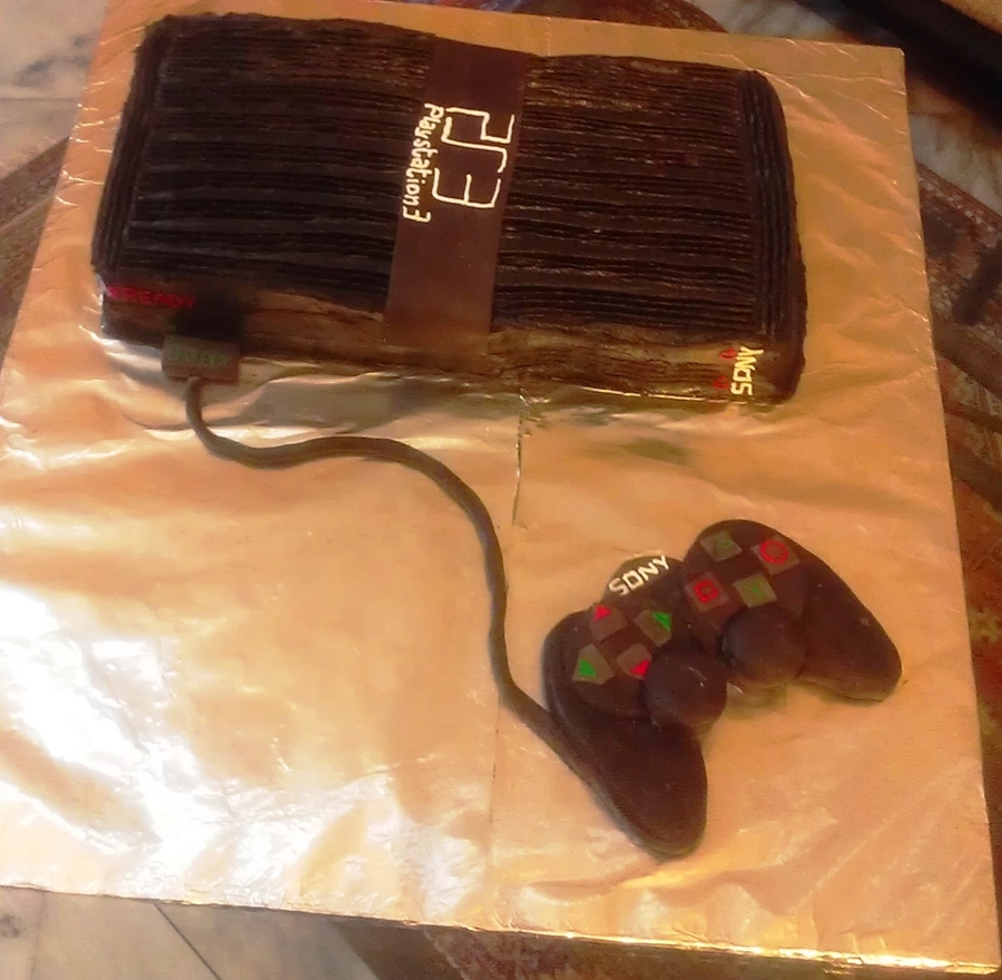 Playstation Cake on Cake Central