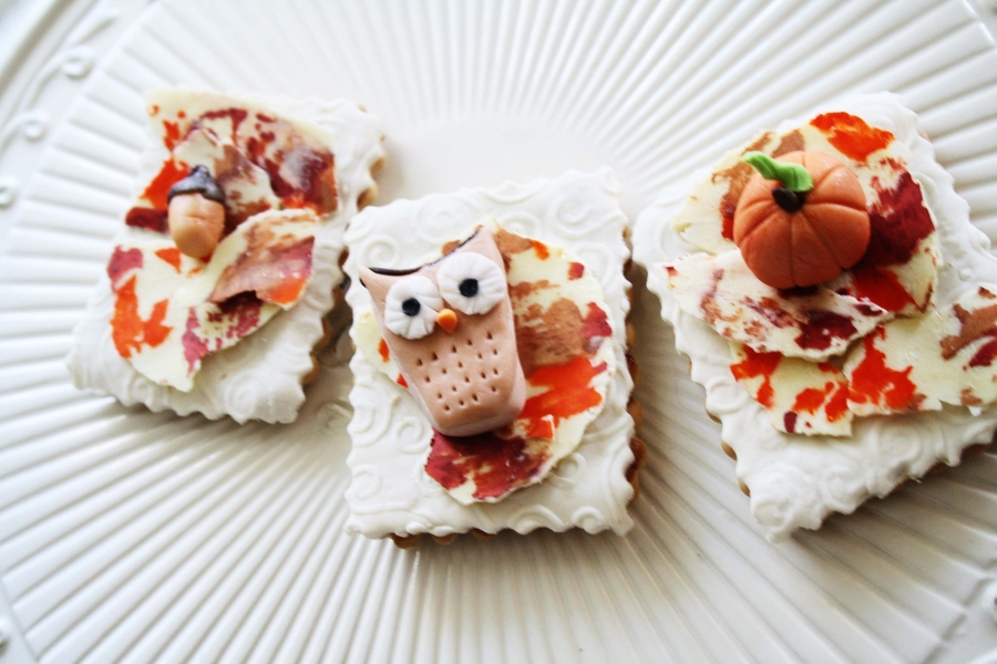 Owl Autumn Cookies on Cake Central
