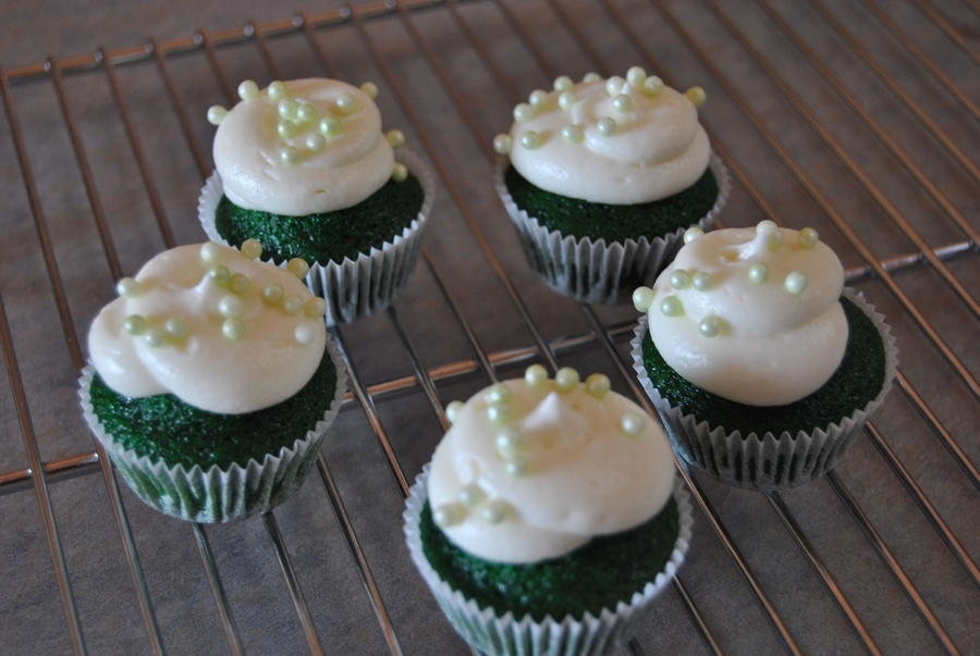 St. Patty's Day Cupcakes on Cake Central