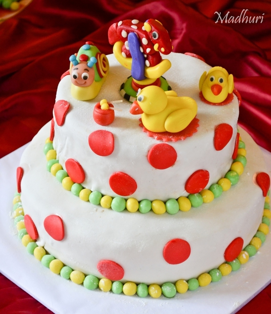 Birthday Cake For 1Yr Old CakeCentralcom