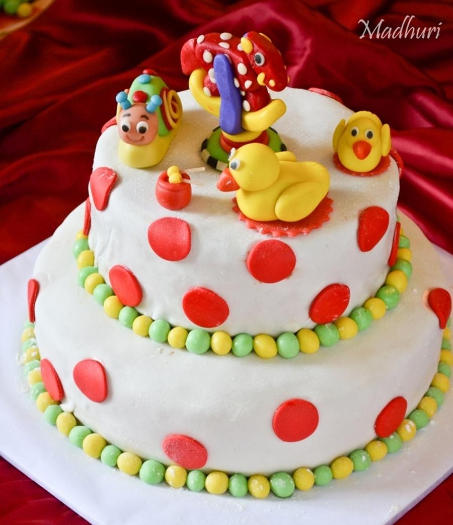 Ideas For A  Yr Old Boy Birthday Cake