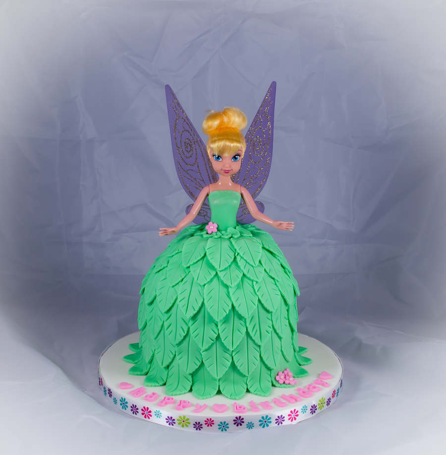 Sweet Tinkerbell  on Cake Central