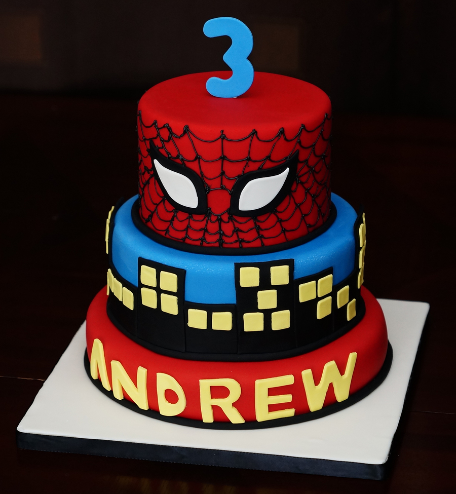 Spider-Man For My Little Man on Cake Central