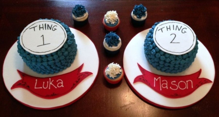 Dr Susse Birthday Cakes For Irish Twins on Cake Central