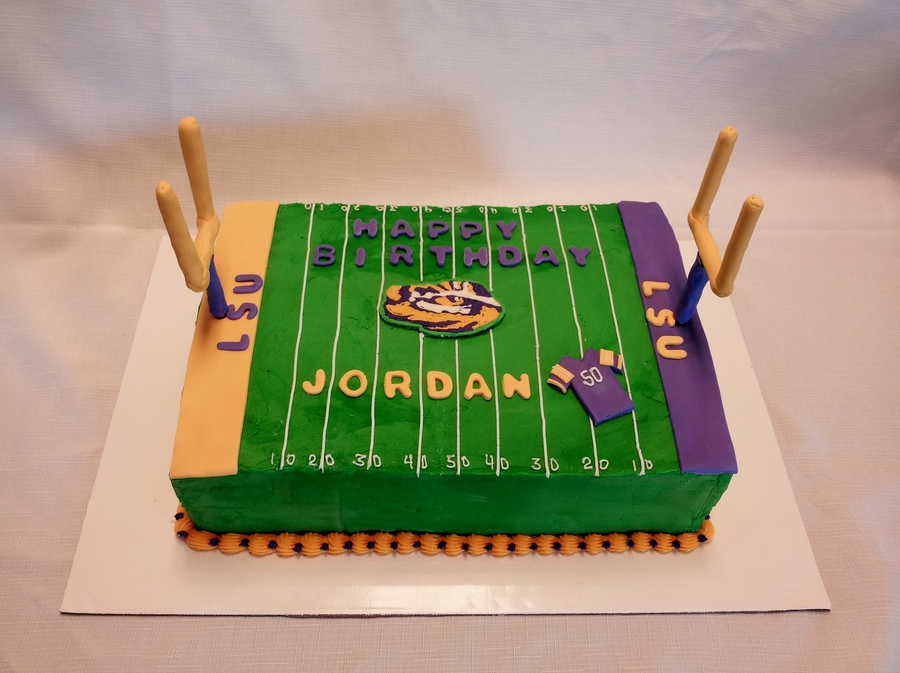 Lsu Football on Cake Central