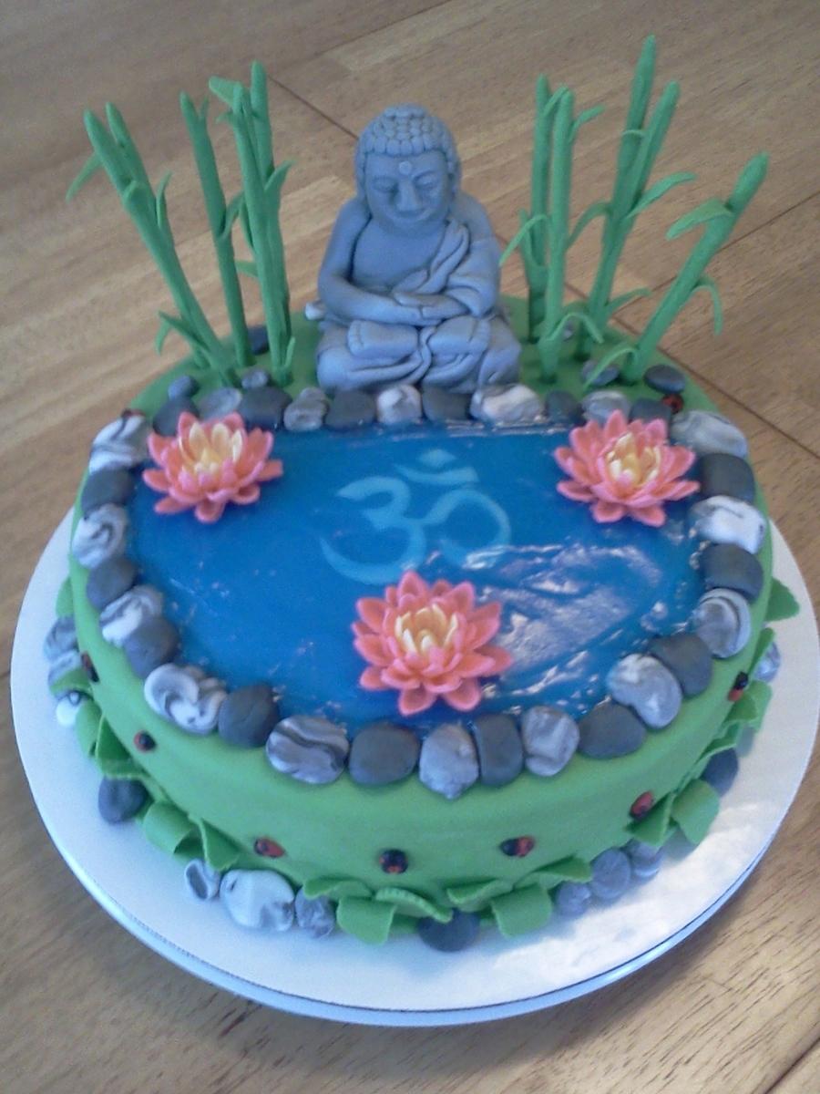 Buddha Cake Cakecentral Com