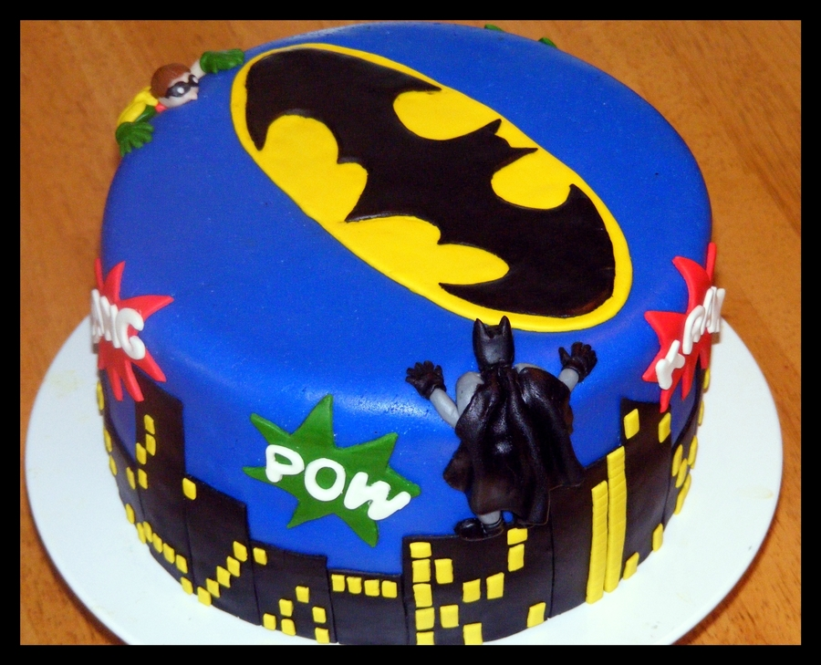 Batman And Robin Cake Cakecentral Com