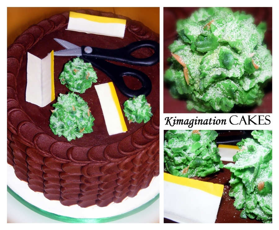 Weed Cake #3 on Cake Central