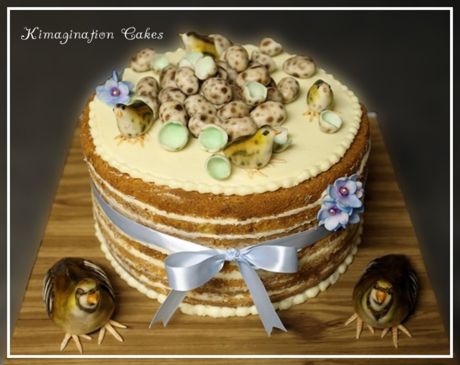 Quail Cake on Cake Central