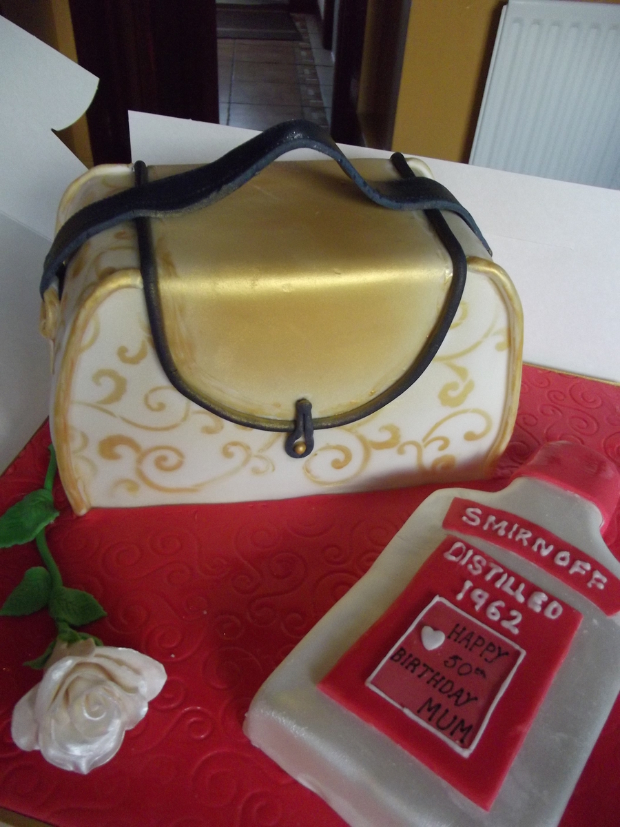 Purse/handbag on Cake Central