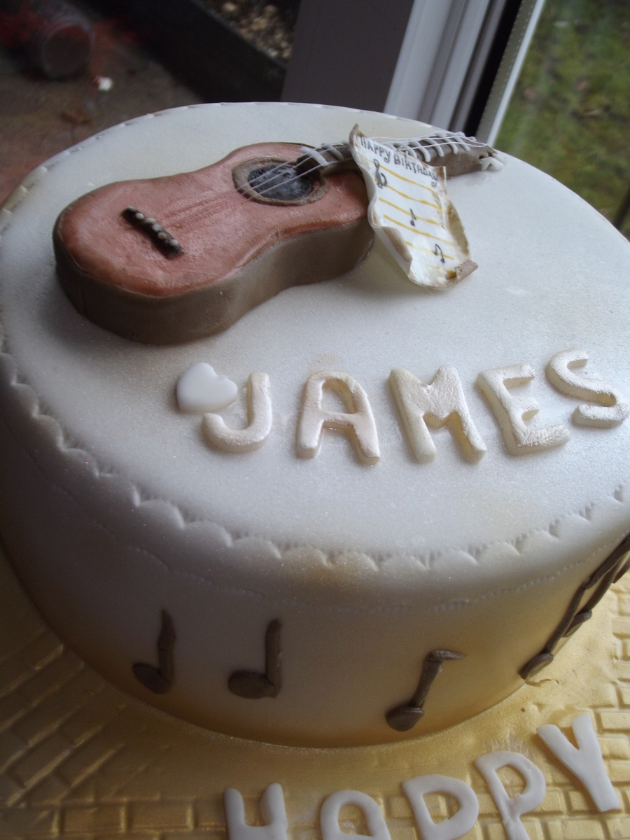Guitar / Music on Cake Central