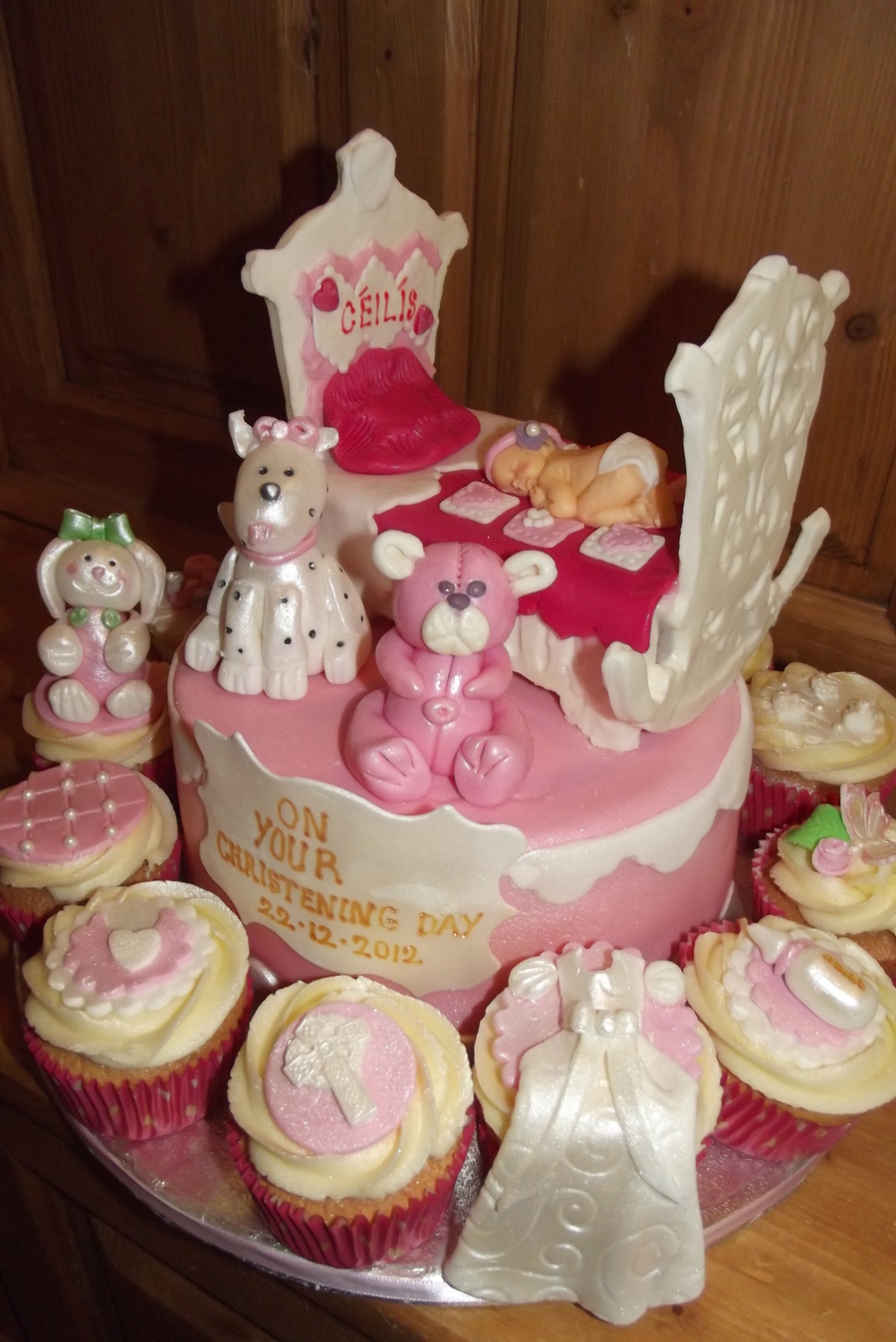 Bay Shower / Christening Cradle on Cake Central
