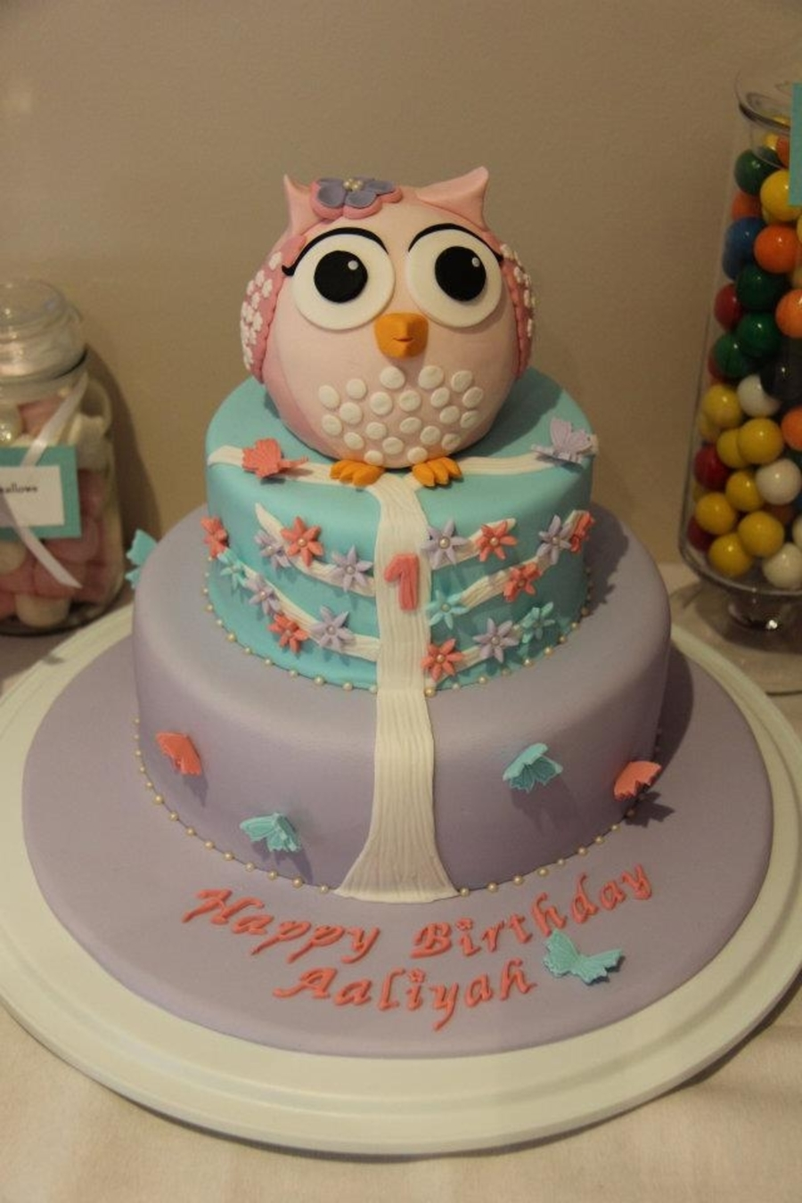 Sitting Owl on Cake Central