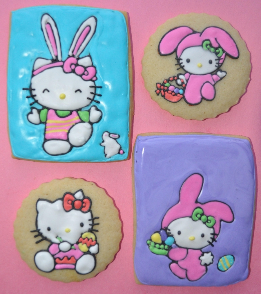 Hello Kitty Easter Cookies on Cake Central