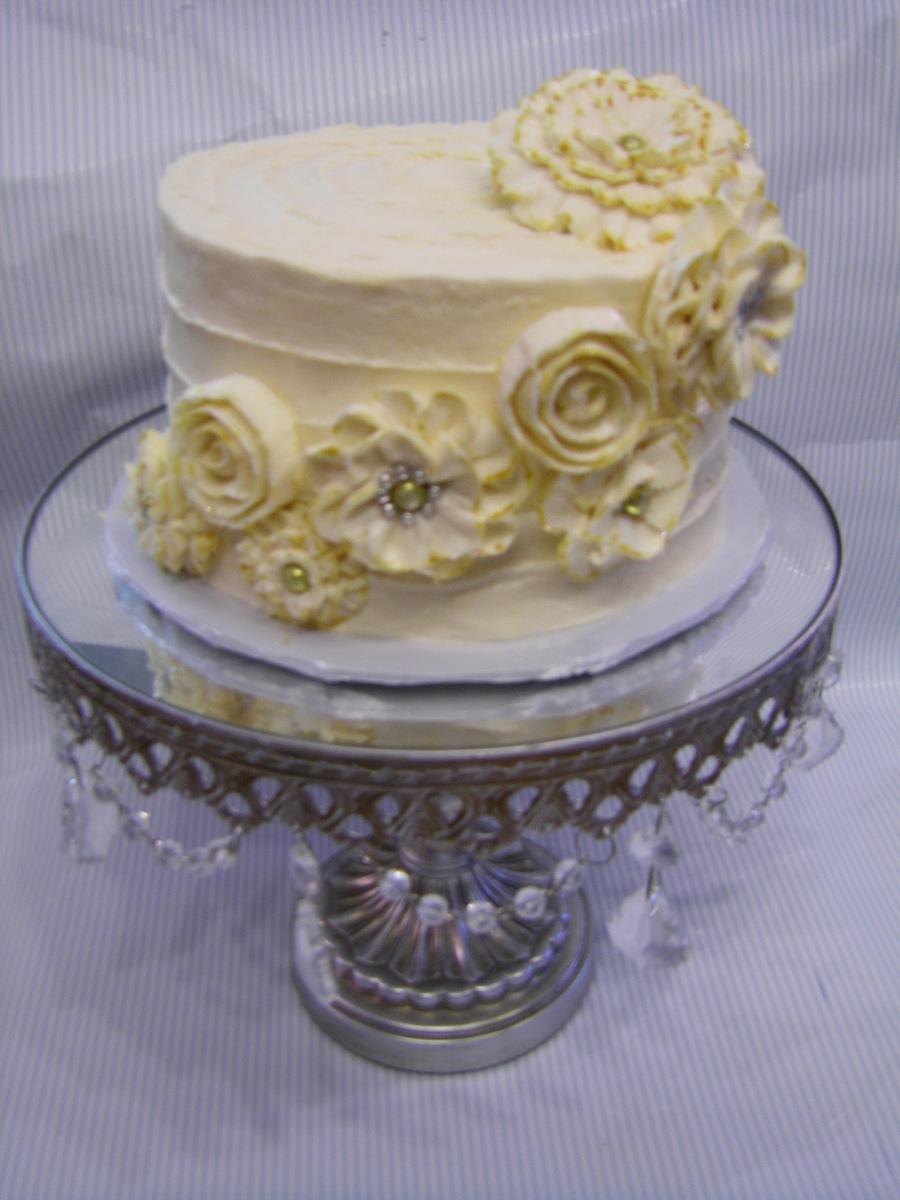 Terrific Shabby Chic Birthday Cake Cakecentral Com Personalised Birthday Cards Vishlily Jamesorg