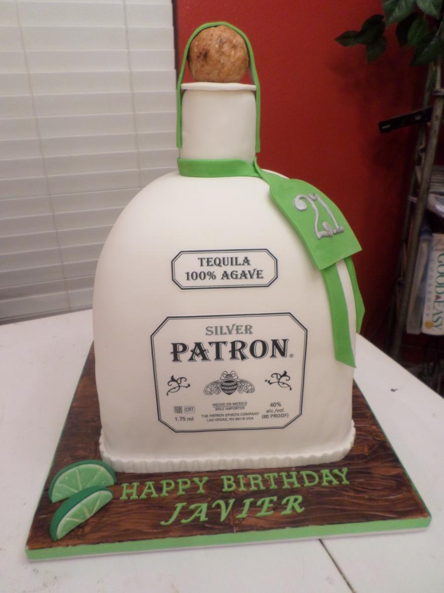 Patron Bottle Cake Cakecentral Com