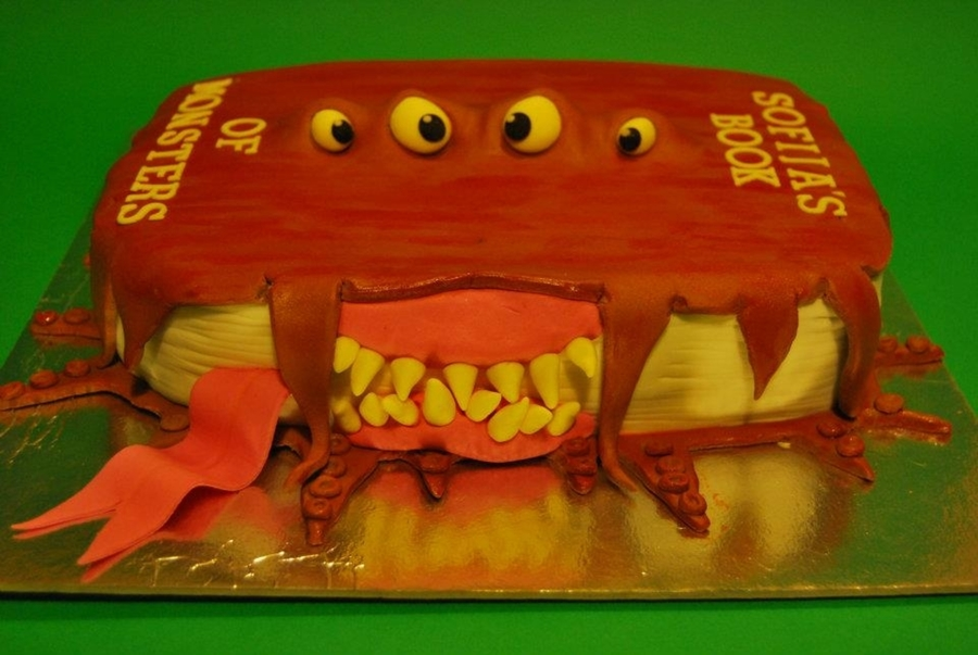 The Monsters Book on Cake Central