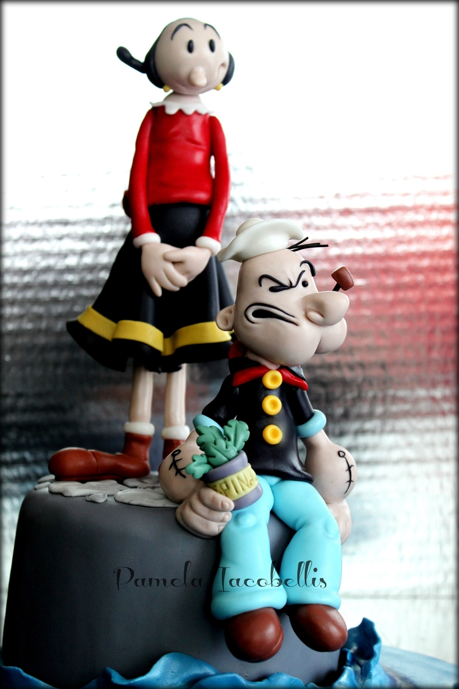 Cake Topper Popeye - Olive on Cake Central