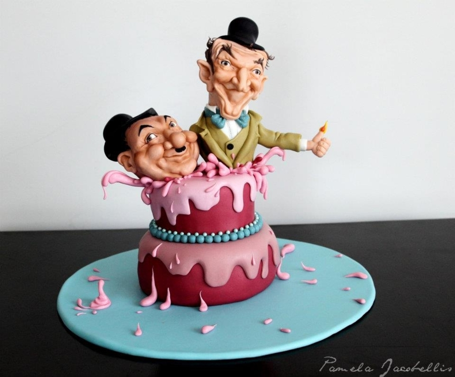 Celebrity Caricature on Cake Central