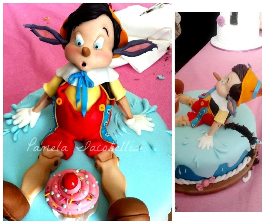 Pinocchio Cake on Cake Central