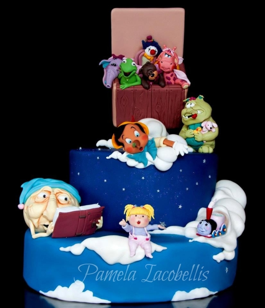 Animated Toys on Cake Central