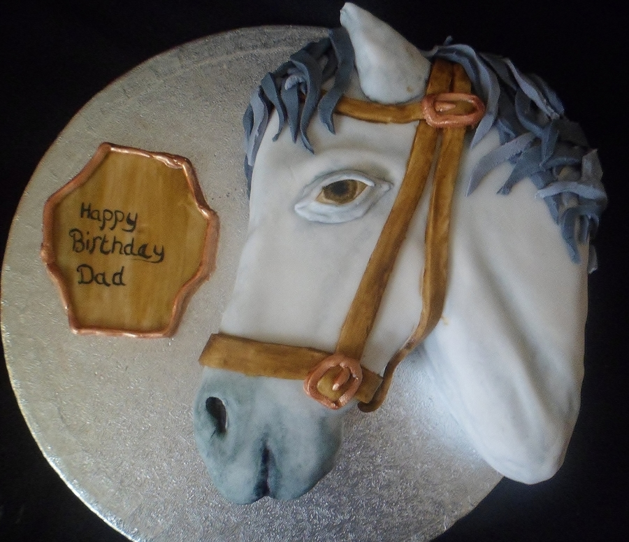 Horse Head Cake CakeCentralcom