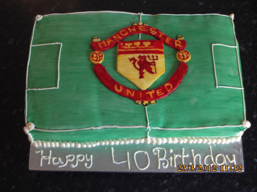 Manchester United Cake on Cake Central