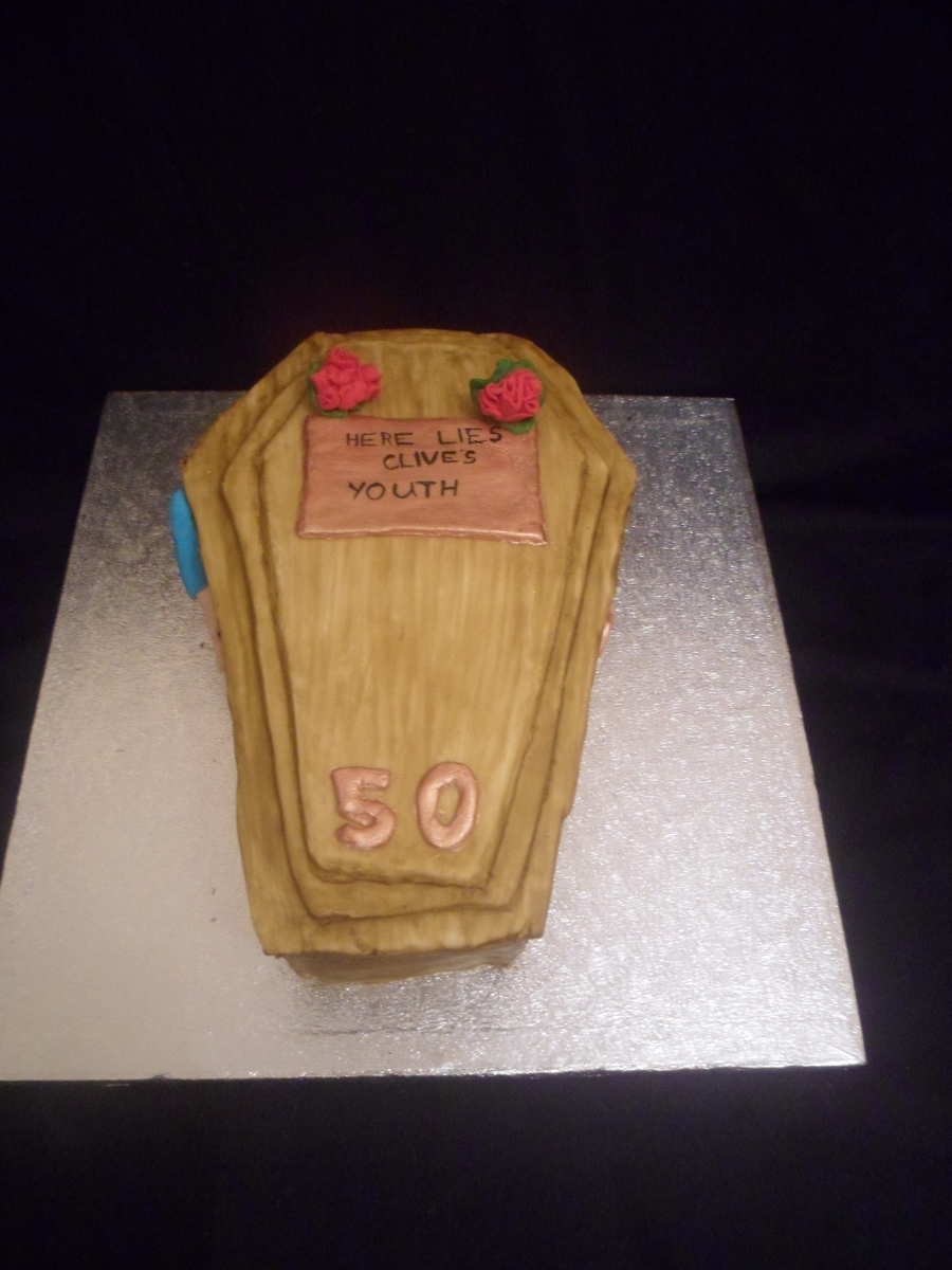 Funny 50th Birthday Cake Cakecentral