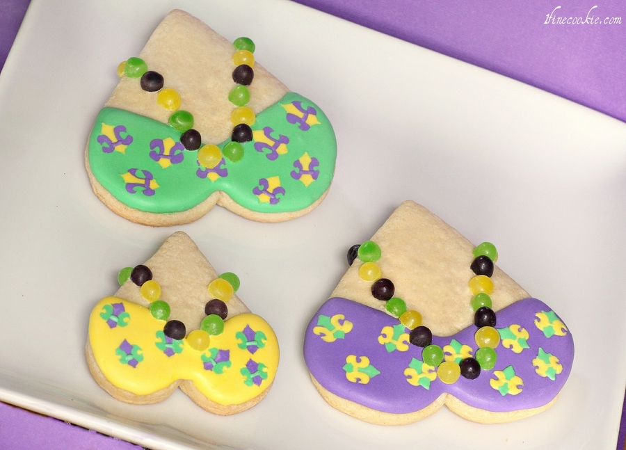 Mardi Gras Cookies on Cake Central