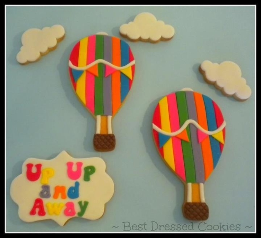 Hot Air Balloon Cookies on Cake Central