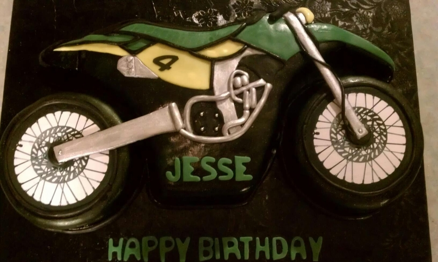 Dirtbike on Cake Central