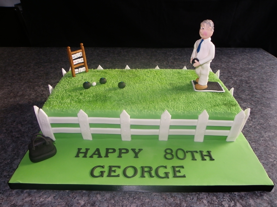 Lawn Bowls  on Cake Central