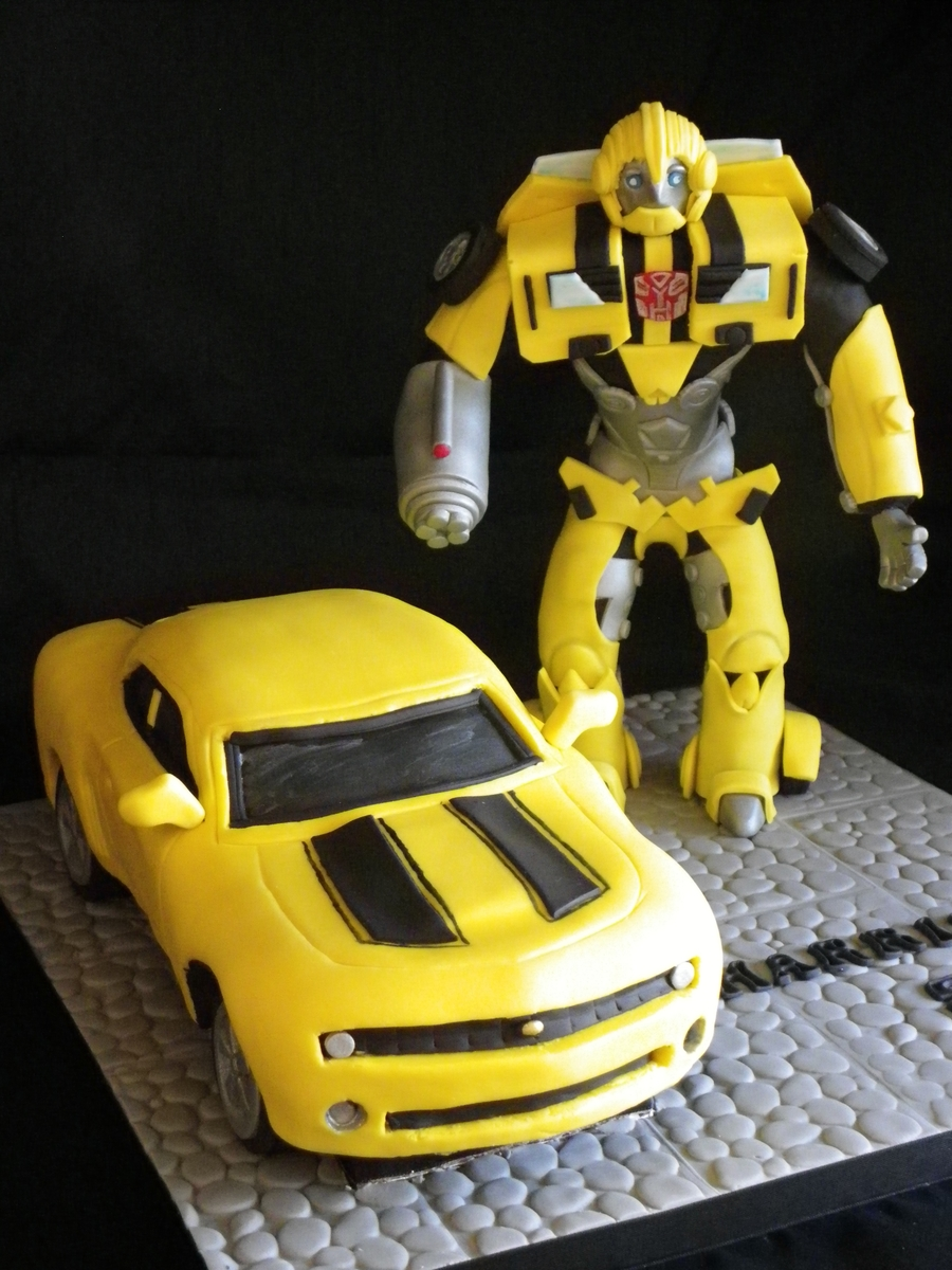 Bumble Bee Transformer Cakecentral Com