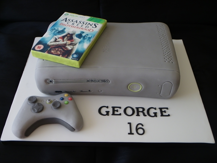 Xbox Cake on Cake Central