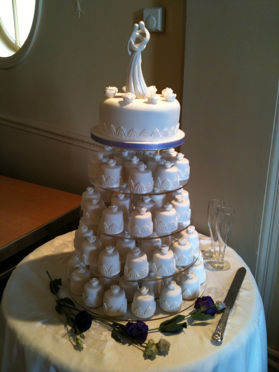 Individual Wedding Cakes on Cake Central