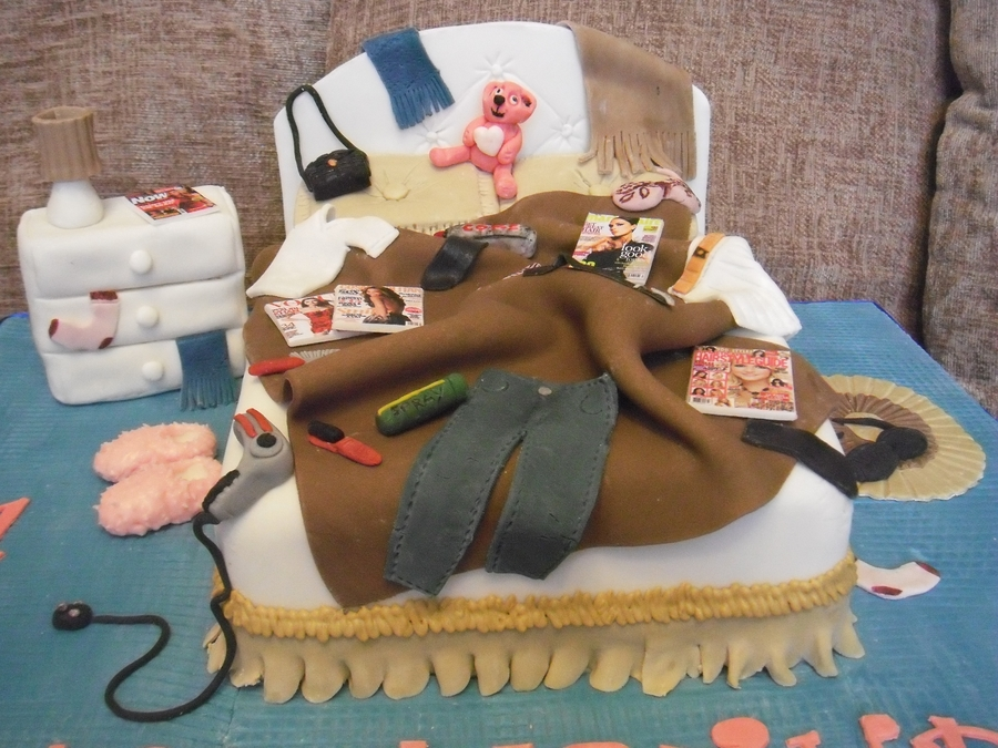 Messy Bed 21st Cakecentral Com