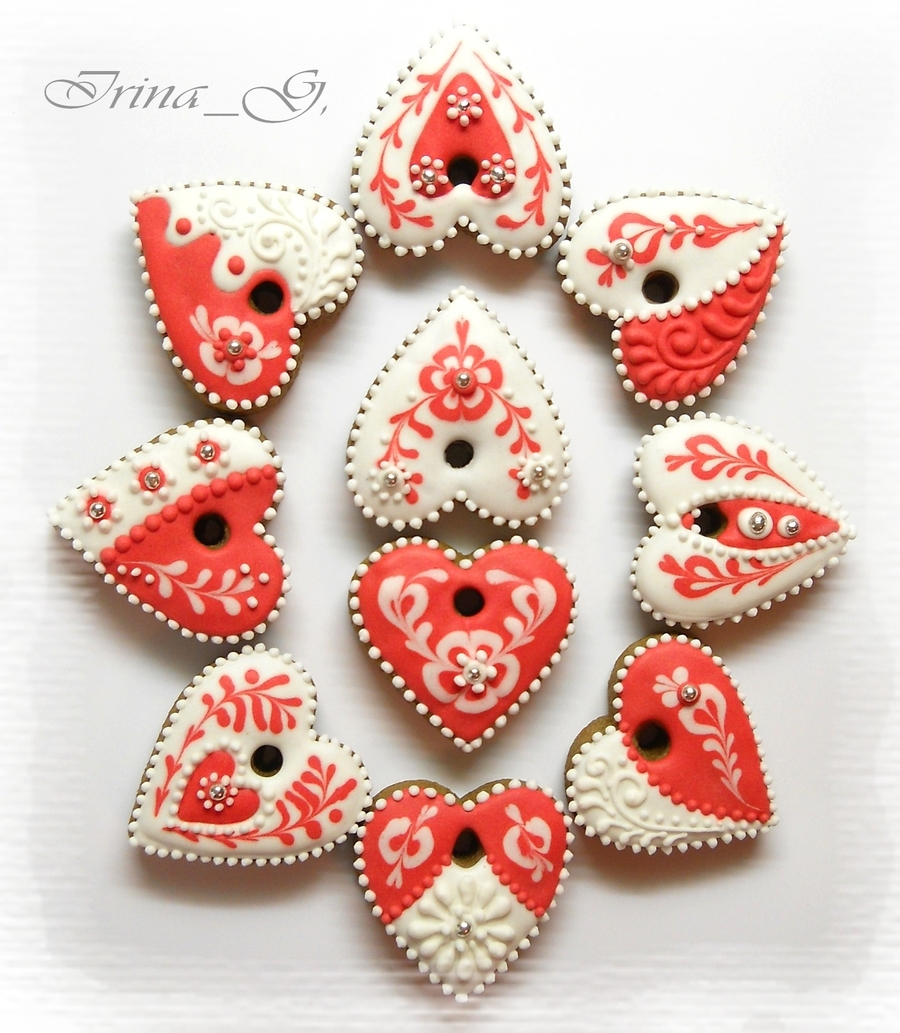 Hearts) on Cake Central