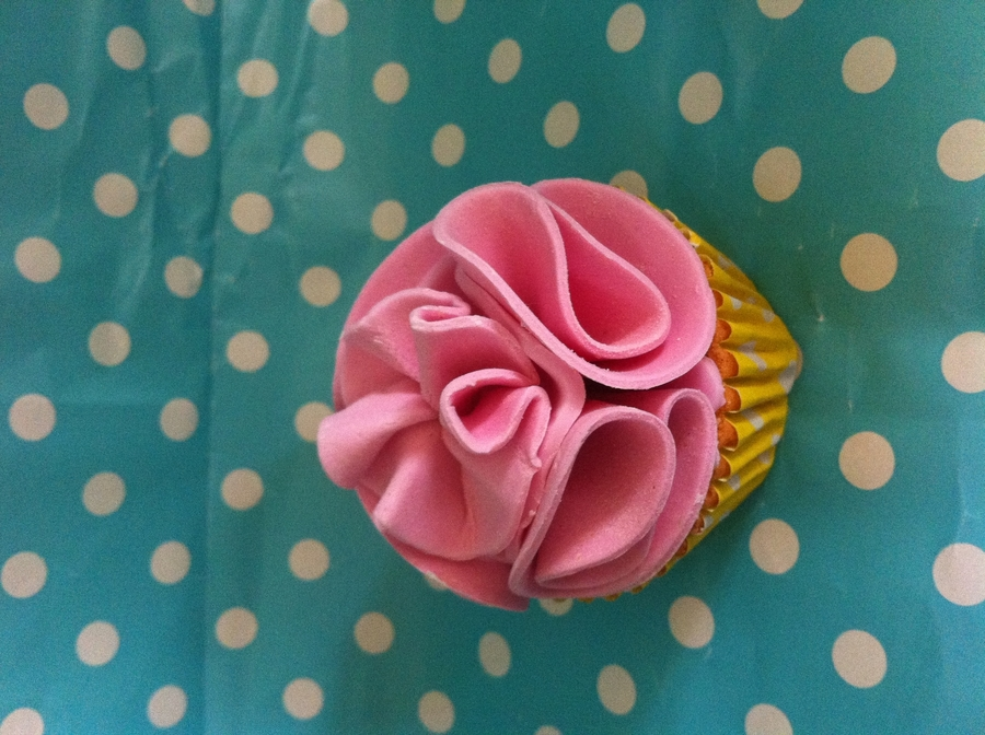 Girly Cupcake on Cake Central