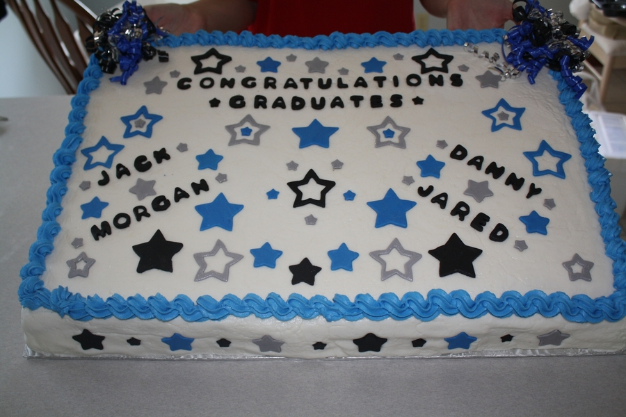 The Stars Of Graduation on Cake Central