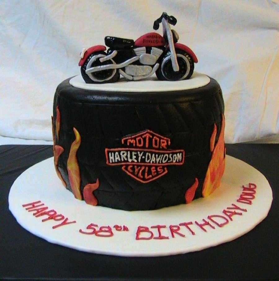 Harley Birthday Cake Cakecentral